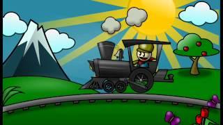 Cuento cantado corto para niños  El tren