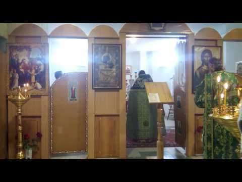 Воскресная Литургия. Молитва о мире в Украине
