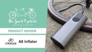 Forget the floor pump - CYCPLUS A8 Electric Air Inflator Review - feat. 150 PSI + USB-C + LED Light