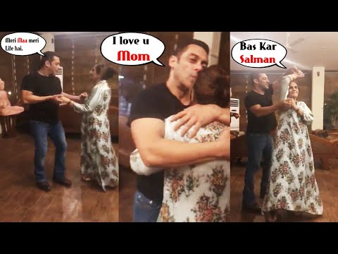 Too CUTE ! Salman Khan dancing with his mom Salma Khan is all things love |
