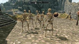 The Elder Scrolls V: Skyrim. Йорваскр. Соратники - скелеты. Прохождение от SAFa