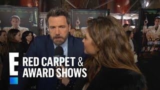 Ben Affleck Happy For Brother Caseys Golden Globe Win  E Live From The Red Carpet