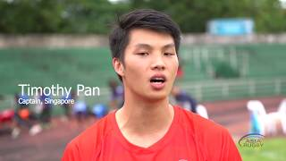 REACTION: Singapore top pool on day one in Laos
