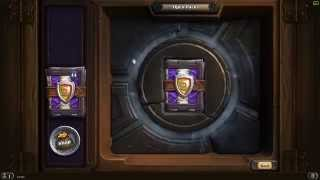 Hearthstone TGT 50 packs opening