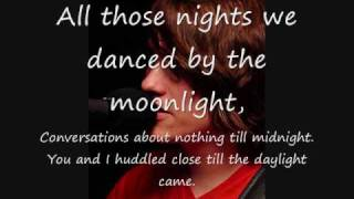 All Those Nights By Chase Coy (With Lyrics and Pictures)