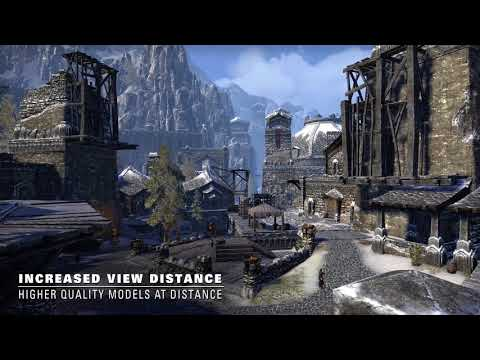 The Elder Scrolls Online : Tamriel Unlimited : The Elder Scrolls Online  - Xbox One X - Ameliorations