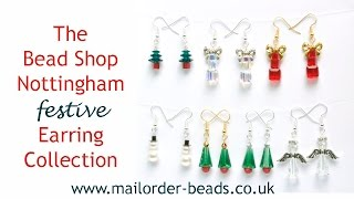 Festive Christmas Earrings: DIY
