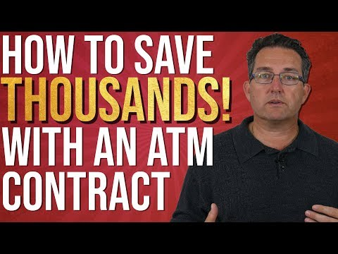IMPORTANT Things to include in your ATM Contract