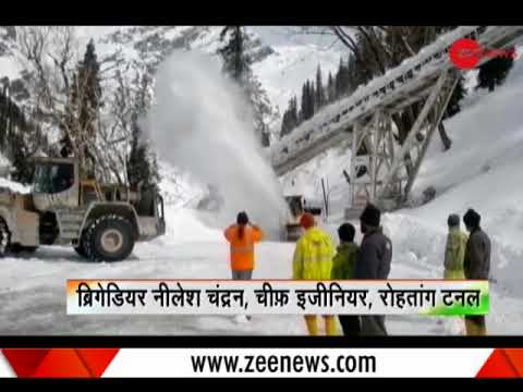 Deshhit: India's longest tunnel almost ready: Located on Manali-Leh highway