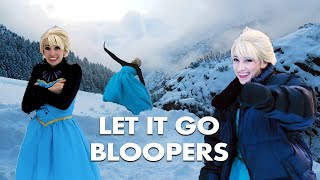 Disney Frozen - Elsa Let it Go Bloopers - in real life!