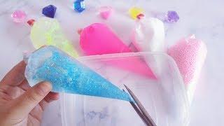 教你用裱花袋自制好玩的减压泥,无硼砂,剪开的瞬间心情都变好了