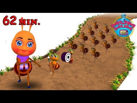 The Ants Go Marching One By One Song |The wheels on the bus nursery rhymes for children| Mum Mum TV