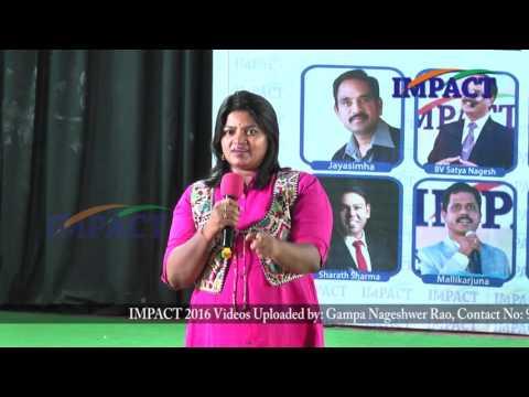 Health | Jessy Naidu | TELUGU IMPACT Hyd Mar 2016