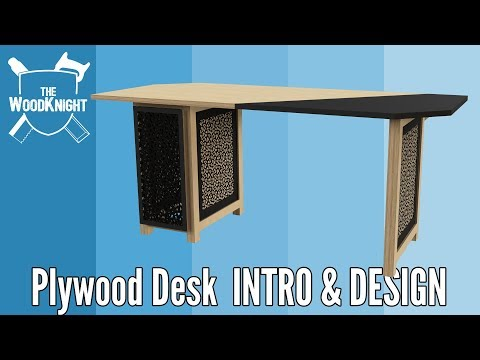 Plywood Desks
