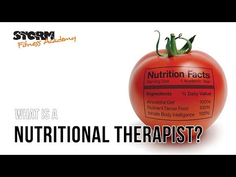 What is a nutritional therapist? | Storm Fitness Academy - YouTube