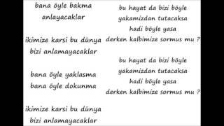 Teoman - Bana öyle Bakma Lyrics