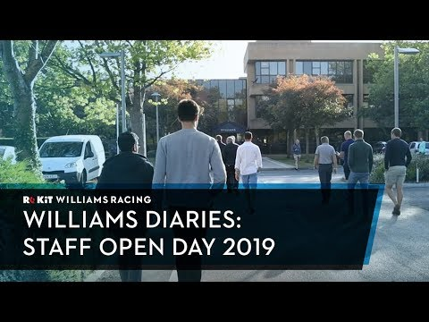 Williams Diaries: Staff Open Day 2019