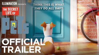 The Secret Life Of Pets  Official Teaser Trailer HD  Illumination