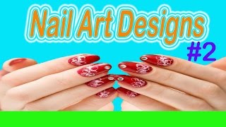 Nail Art Designs Videos | Beautiful Nail Art Designs Time Lapse Videos | Chalkboard Nails!