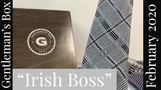 Gentleman's Box Subscription | Irish Boss | February 2020