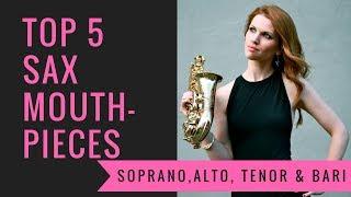 Top 5 mouthpieces 🎶  saxophone lessons / tutorials