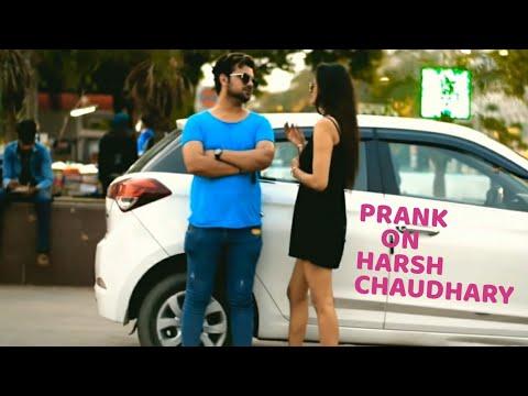 Prank On My Girlfriend || Pranks In India || New Pranks 2020 || Harsh Chaudhary