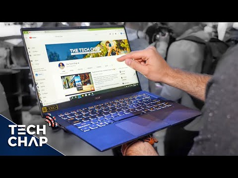 The Acer Swift 5 just got a BIG Upgrade! [10th Gen + MX250 + 990g] | The Tech Chap