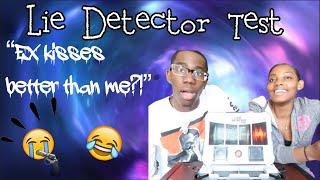 Couples lie detector test || Her ex kisses better than me?!🤨💔