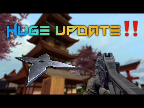 Bullet Force Update 2017: New Weapons, Ninja Stars, New Map, and More Ads‼️