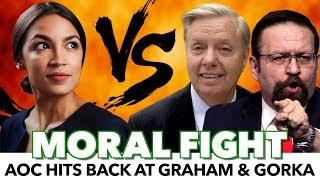 Ocasio-Cortez Exposes Lindsey Graham & Seb Gorka
