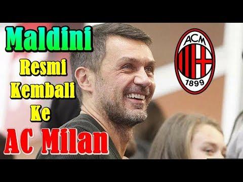 BREAKING NEWS!!! Paolo Maldini Akhirnya Resmi Kembali ke AC Milan