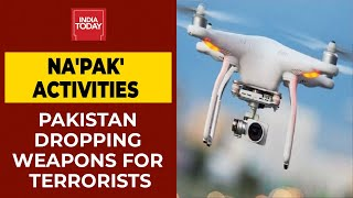 Pakistan Taking Help Of Drones To Drop Weapons For Terrorists Near Border In Jammu & Kashmir - Download this Video in MP3, M4A, WEBM, MP4, 3GP