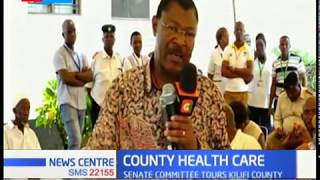 Special senate committee on health investigates sh.38 billion  medical equipment leased to counties