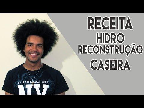 RECEITA DE HIDRO RECONSTRUÇÃO CASEIRA