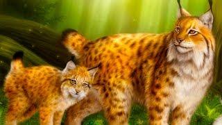 СИМУЛЯТОР ДИКОЙ КОШКИ #13 маленькие котята Рыси / Видео для детей от КИДА #ПУРУМЧАТА