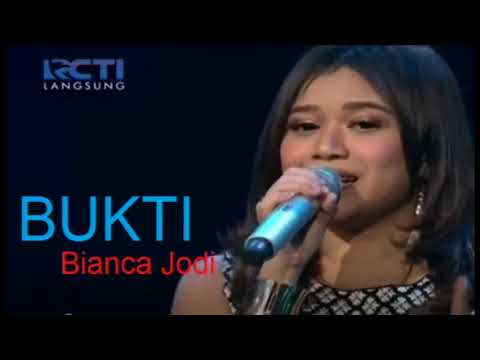 , title : 'BIANCA JODIE - BUKTI (Virgoun) - SHOWCASE 1 - Indonesian Idol 2018'