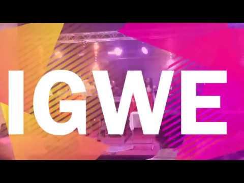 """IGWE  EXTRAIT LIVE """" Géraldine Ngonda"""""""