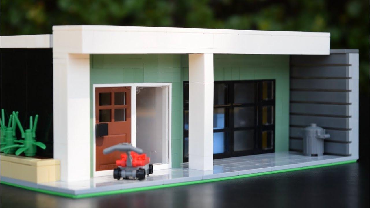 LEGO Stranger Things Dustin's House MOC // Stranger Things