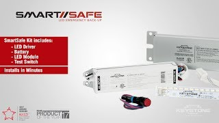 SmartSafe - LED Emergency Back-up Installation