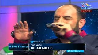 Gilad Millo perfoms his new song 'One Wish' on #theTrend