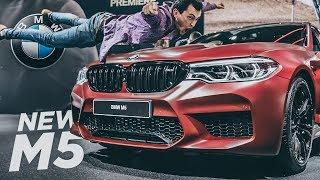ОБЗОР на НОВУЮ BMW M5 F90 600 сил! Mercedes-AMG E 63 уже нервничает? Ждем тест-драйв чумовой БМВ : )