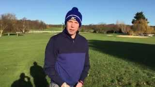 preview picture of video 'Winter rules at Warley Park Golf Club Brentwood'