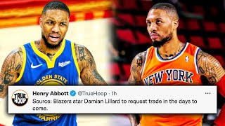 Damian Lillard Officially Plans To REQUEST TRADE…