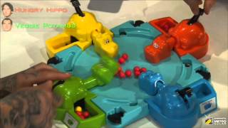 Rumble in the Jungle: Hungry Hippos