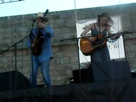 "Gillian Welch ""I Want to Sing That Rock and Roll"" at Newport Folk Festival"