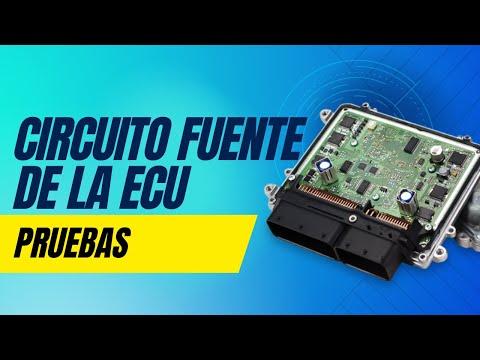 Curso reparación de Computadoras Automotrices ECU - Circuito Fuente