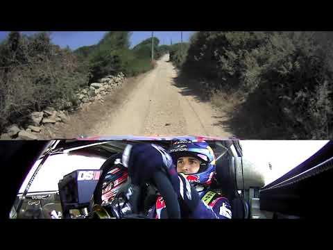 WRC - Rally Italia Sardegna 2019: ONBOARD Dani Sordo SS18