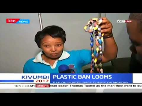 Manufacturers exhibit the alternatives to the plastic bags and their prices