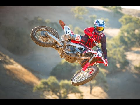 2018 Honda CRF250R in Missoula, Montana - Video 1