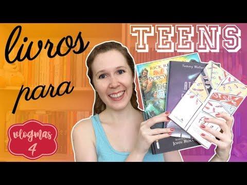12 DIAS DE VLOGMAS #4 Livros para teens | Leituras de Deni